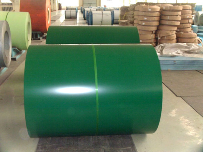cut Z60 to Z27 Zinc coating Prepainted Color Steel Coils / Coil
